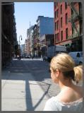 Angie glides through Soho
