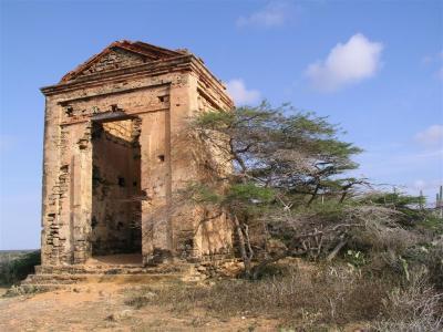 Península de Paraguaná, Ruinas de capilla frente a la casa de Juan Crisostomo Falcón, Edo Falcón