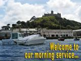 'Welcome' slide from 'St. Michaels Mount' series