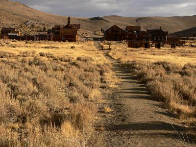 The Last Great Ghost Town, Bodie, California, 2004