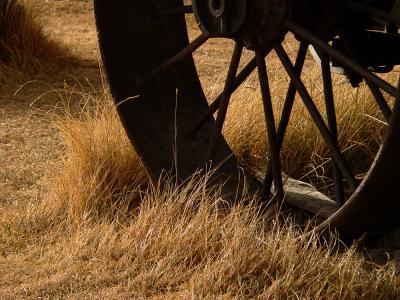 Iron Wheel, Bodie, California, 2004
