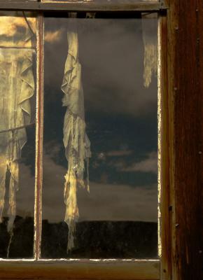 Torn Curtain, Bodie, California, 2004