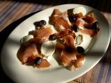 prosciutto, mozzarella and olives (large)