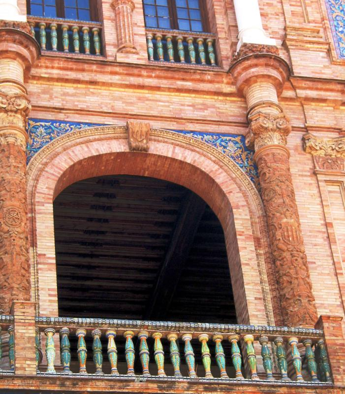 Plaza dEspana Balcony detail