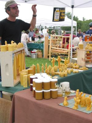 Darryl the beekeeper