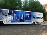 The Honda Asimo Robot