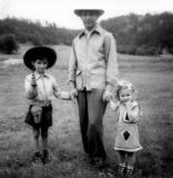 On vacation in the Black Hills of South Dakota, 1948