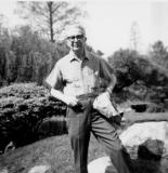 In the Brooklyn Botanical Garden, 1964 or 1965