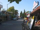 Closer to the center of Dalyan, still on the main street.