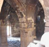 The interiors have been hurt by time and vandalism.