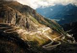 old St.Gotthardt Pass,called Tremola