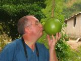 Bill kissing the gourd
