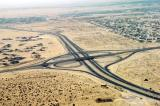 Emirates Road E-11 junction with D-83