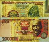 Ghana's currency is the Cedi (now obsolete)