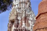 Khmer style central tower of Wat Ratchaburana