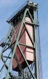 Counterweight mechanism of the draw bridge