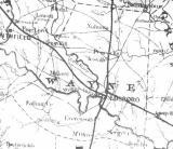 Wayne Co. NC Map 1863
