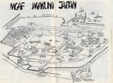 MCAF Iwakuni map