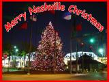 Nashville Christmas Tree in Riverfront Park