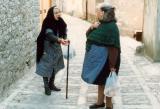 Old Ladies Talking Sicily