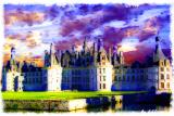 Royal Chambord In Loire Valley