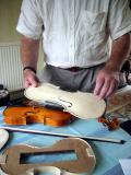 Early steps in making violins