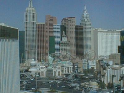 Las Vegas View From Tropicana Hotel On Honeymoon