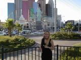 In front of New York, New York in Las Vegas
