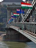 Chain Bridge (visit of NZ prime minister)
