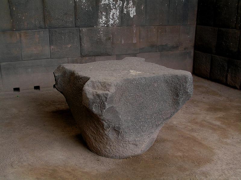 Incan walls and stones in Santo Domingo