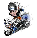 FJR police bike