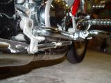 BRAKE ARM AND EXTENSION ROD