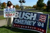 Photo from president Bush's visit to Chanhassen, Minnesota.
