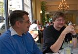 Jim Shulman and Kyle Cassidy (photo by  Nathan Wajsman)