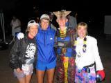 Kari Marchant (nice water bottle holder!), Barb Elia, Nikki, Lisa