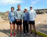 2nd place team from Spokane: Gunhild Swanson, Dennis Clute, Connie Ridenour, David Bliss