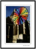 Color wheel and the church