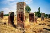 Selcuk cemetery at Ahlat, Lake Van