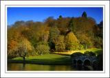 Stourhead ~ the bridge and backdrop