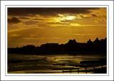 Golden sky, Lyme Regis, Dorset