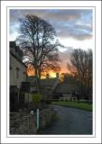 Sunrise, Lower Slaughter, Cotswolds