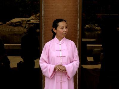 Tai Chi Master, Xian, China, 2004