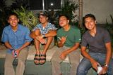 Marco, Vince, Earl and Buji