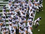 Northwestern takes the field