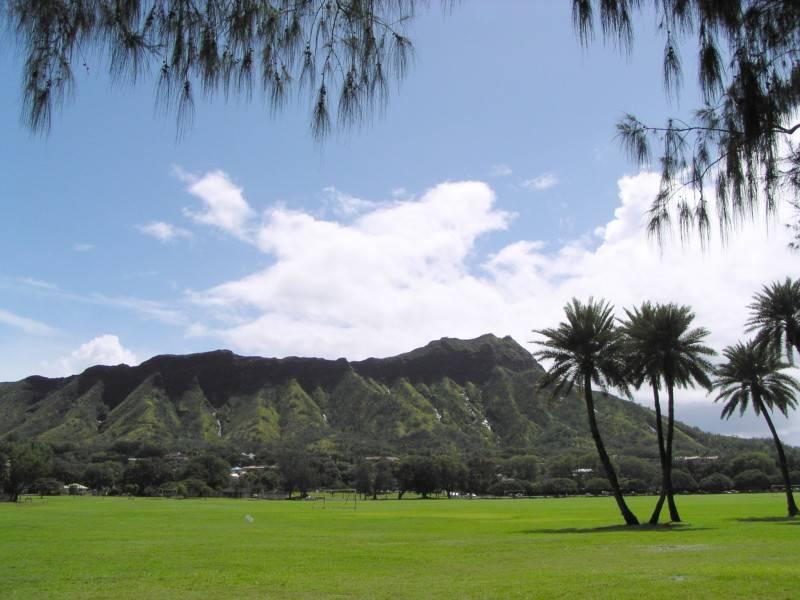 Diamond Head Kapiolani Park