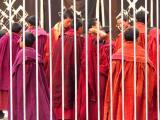 Monks in class
