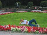 Relaxing in English Garden