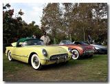 2 1955 Corvettes