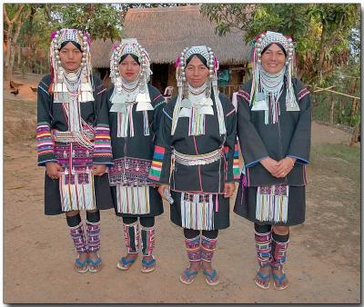 Akha hilltribe - Dhammayon, Burma