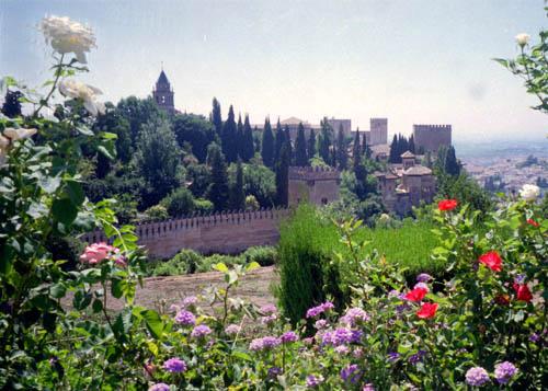 El Alhambra gardens